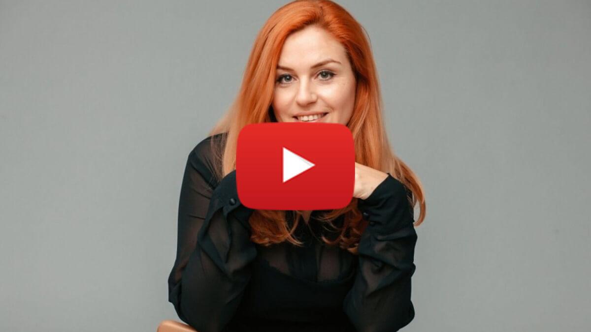 макет для большого видео вкладыша