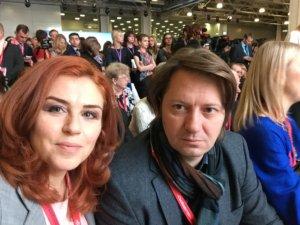 Андрей Краснов и Наташа Закхайм